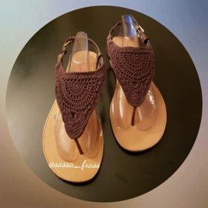 Torrid Sandals, Size 12W